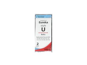 2 Belts Eureka Sanitaire Style EXT U Belts 61120 54312 Bravo II 8800 9000 USA!