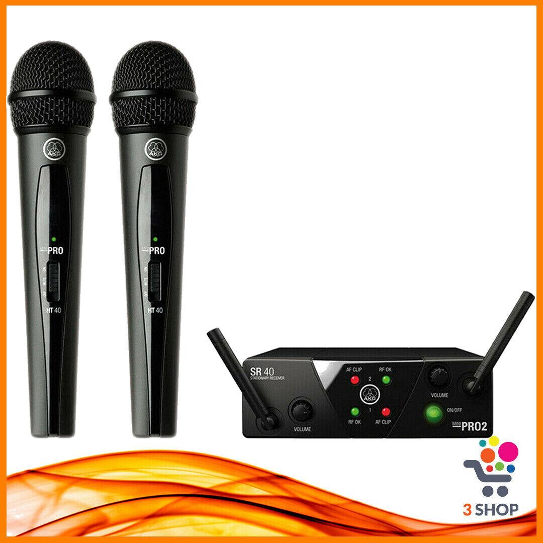 Radiomicrofono doppio palmare gelato wireless senza fili dinamico microfoni