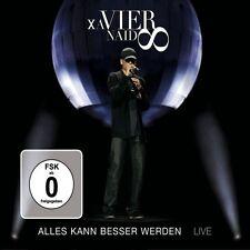 XAVIER NAIDOO-ALLES KANN BESSER WERDEN-LIVE CD+DVD NEU