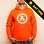 GLOW IN THE DARK!Lambda Core Half LifeBlack MesaFreemanHoodie