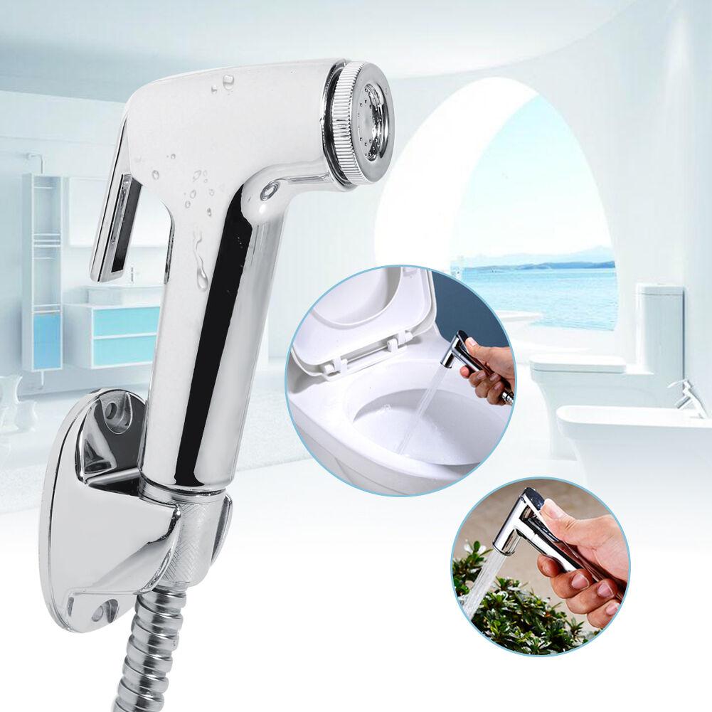 Groovy Details About Bidet Shattaf Douche Spray Chrome Hygienic Toilet Shower Head Wall Hose Set Us Creativecarmelina Interior Chair Design Creativecarmelinacom