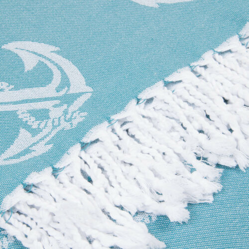 Anchor Beach Towel Sand Free Soft Absorbent 100/% Cotton Large Beach Cover