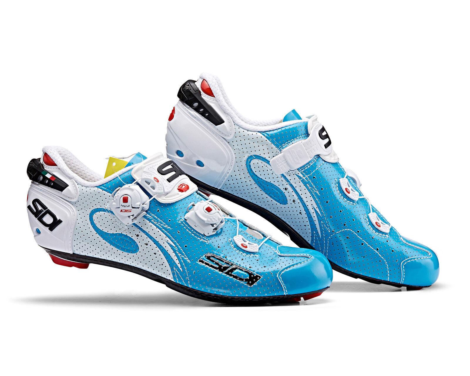 Alambre Sidi Cochebono aire road cycling zapatos-cielo azul blancoo