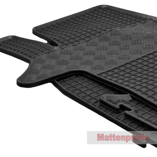 Alfombrillas profesionales alfombrillas de goma goma tapices para VW t6 Caravelle a partir del año 2015-Rig