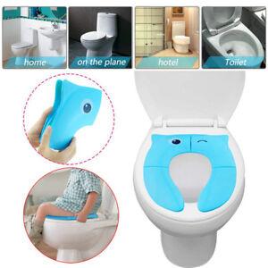 Foldable Potty Training Seat Baby Travel Toilet Potty Seat