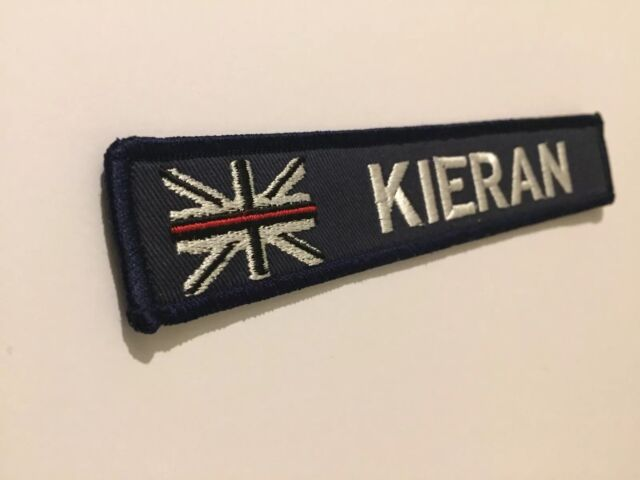Custom Embroidered Name Patch Hook And Loop 15.5 cm X 3.2 cm Sea Cadets Navy ⚓️