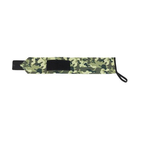 Handgelenkbandage Camouflage Green Selbstklebebänder Gewichthebergurt 1 Stk