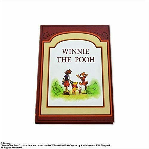 Kingdom Hearts Book Storage Box 100 Acre Forest Winnie the Pooh