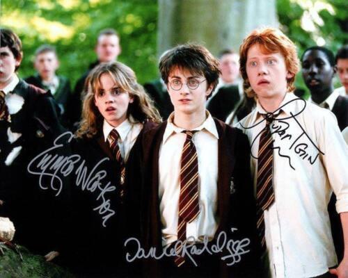 REPRINT HARRY POTTER Cast Autographed Signed 8 x 10 Photo Poster
