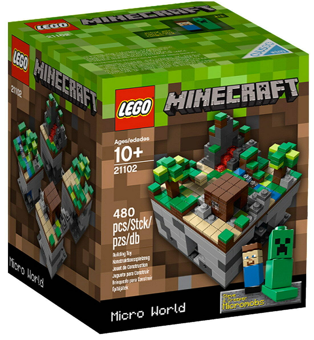 all'ingrosso a buon mercato LEGO 21102 Minecraft Micro World - The The The Forest - Ideas Cuusoo Wald Steve Creeper  consegna gratuita