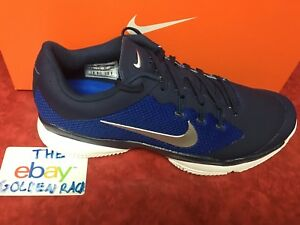 Men s NIKE Court Tennis Air Zoom Ultra Navy Shoes Size US 8.5 ... adff97a5766