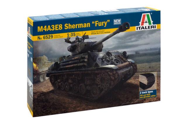 Italeri 6529 - 1/35 WWII US M4A3E8 Sherman Fury - Neu