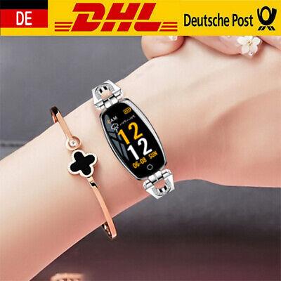 Smartwatch Wasserdicht Sportuhr Pulsuhr Handy Fitness Tracker Damen Frauen Uhr