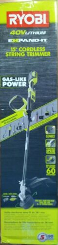 """Ryobi 40V lithium 15/""""  String Trimmer  Attachment Capable RY40220 tool only"""