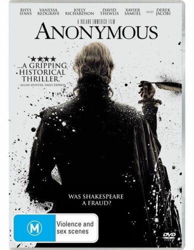 1 of 1 - Anonymous (DVD)  Thriller, Drama, History Film