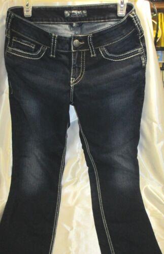 Suki 29 Jeans Dark Skinny Silver Jean Wash 30 Womens Taglia Stretch xqaCw1F