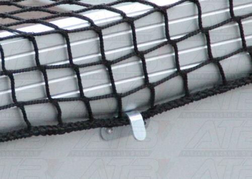 Abspannhaken für Planen Netz Containernetz Anhänger 20 x Planenhaken Stahl verz