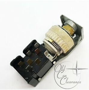 1965-1966 Lincoln Continental Headlight Switch no Auto Dim (C5SZ11654C)