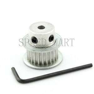 3M Timing Pulley 30T 17mm Bore for Stepper Motor 3D Printer 11mm Width HTD