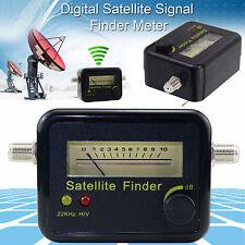 Analógico Señal Satelital Finder Medidor De Intensidad De Pantalla De Lcd Para Sat Plato Directv