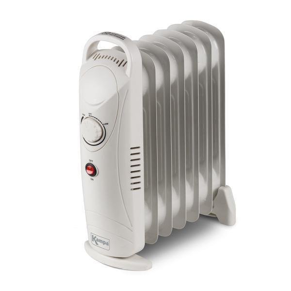 Kampa Tempo Oil Filled Radiator - Energy Efficient Heating