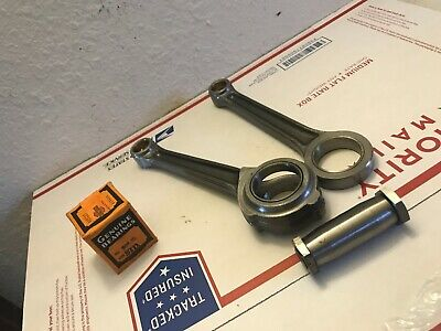 harley antique flathead 45 rl wl wla rods crankpin and bearings