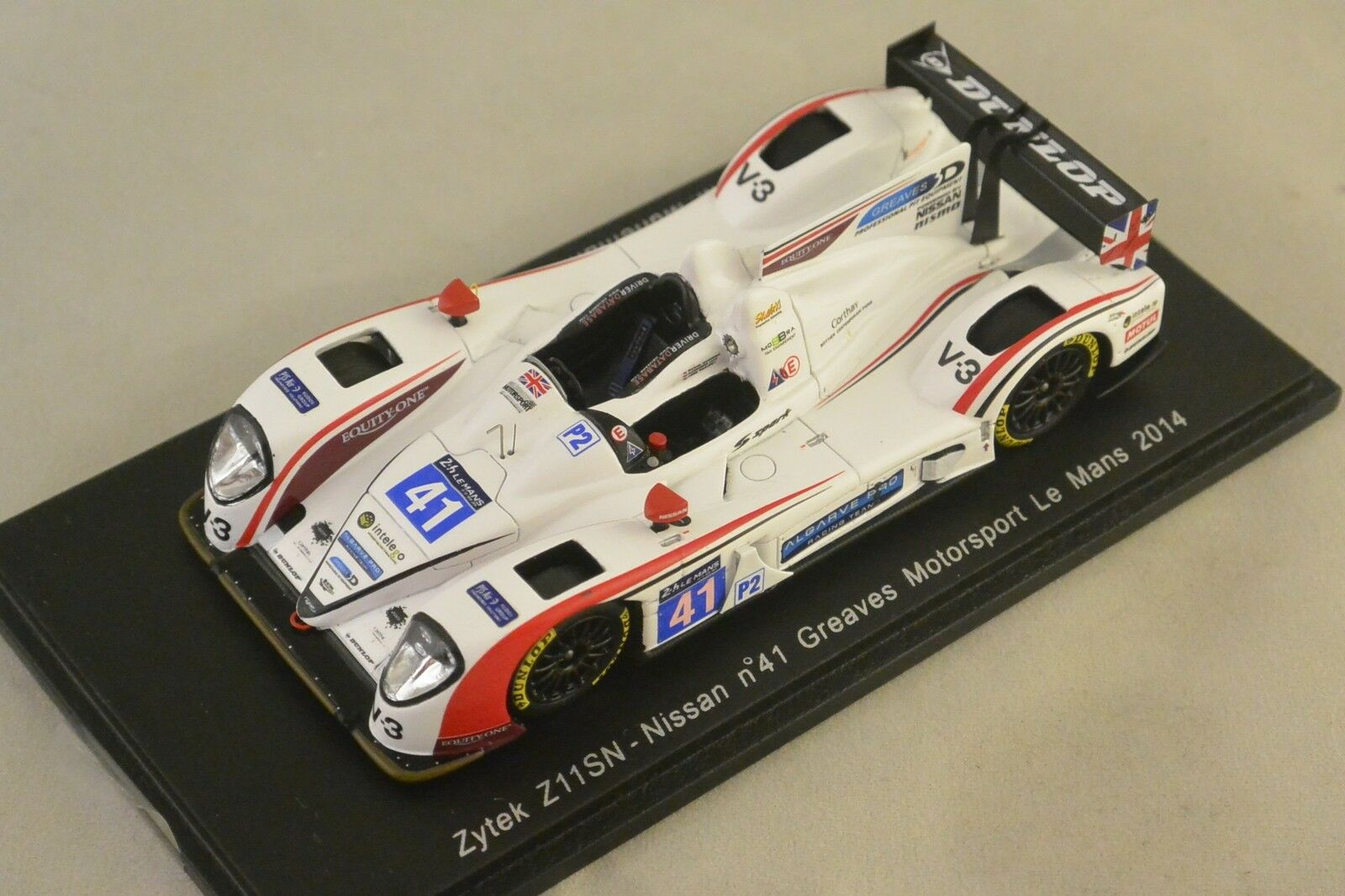 Spark S4220 - ZYTEK Z11SN Nissan Greaves n°41 Le Mans 2014 M. Munemann 1 43
