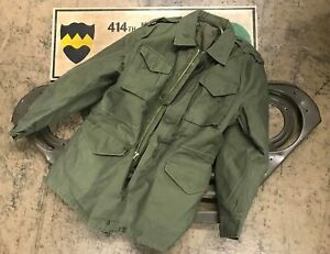 2019 Mode Us Feldjacke Army Vintage M1951 Prewash Jacke Mit Futter Oliv Medium Regular