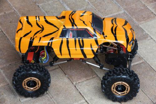 Everest 1//10 Custom Body Tiger Style for Redcat Racing Rockslide