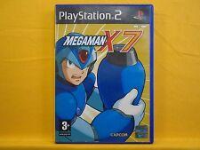 ps2 MEGAMAN X7 Mega Man Action Adventure Game Playstation PAL UK ENGLISH Version