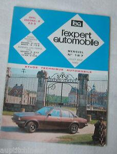 2019 DernièRe Conception Revue Technique L'expert Automobile N° 167 1980 Opel Ascona - B 2.0 D