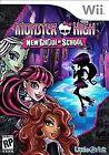Monster High: New Ghoul in School (Nintendo Wii, 2015)