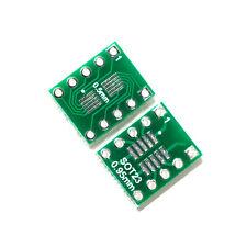 10pcs Ic Sot23 Ssop10 Msop10 Umax To Dip 05095mm Adapter Pcb Board Converter