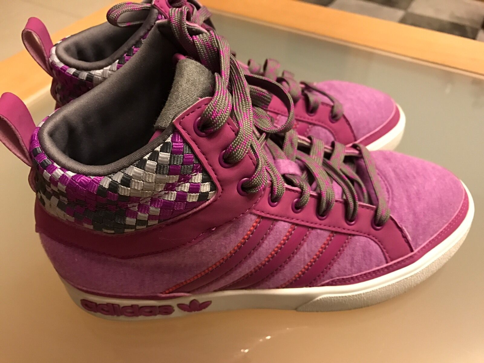 Adidas Top Schuhe Court High W-Friendship Athletic Schuhe Top Pink Größe 37 / UK 6 dc18f3