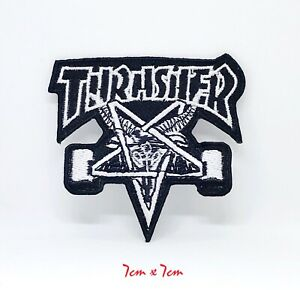 New-Thrasher-badge-logo-Embroidered-Iron-Sew-on-Patch-111