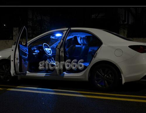TOOL For 2002-2008 Audi A4 S4 B6 B7 23 x Canbus Blue Interior LED Lights Kit