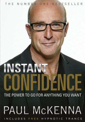 1 of 1 - Instant Confidence by McKenna, Paul 0593055357 The Cheap Fast Free Post