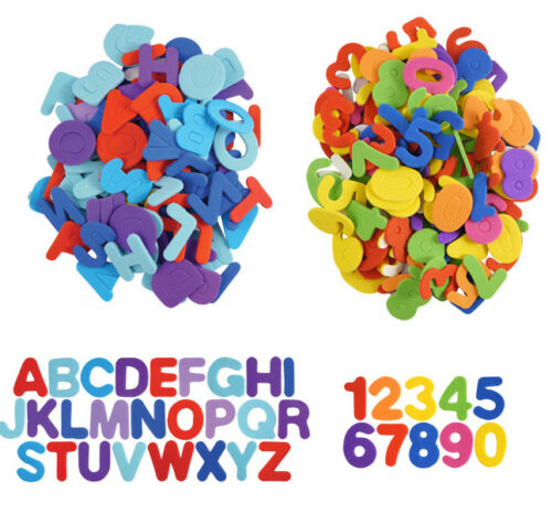 Foam Stickers Numbers /& Alphabet Letters Self Adhesive Childrens EVA Art Craft