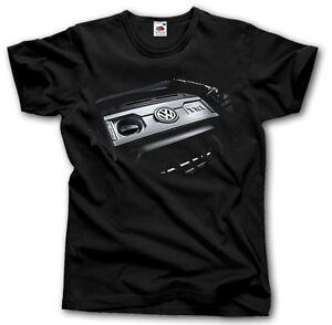 volkswagen gti engine t shirt s xxxl golf passat bora. Black Bedroom Furniture Sets. Home Design Ideas