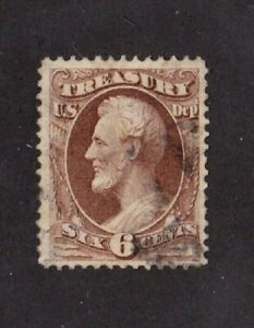 United-States-stamp-o75-used-Treasury-BOB-VVF-XF-SCV-30-00