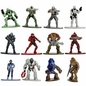 Halo-Nano-metalfigs-100-Die-Cast-Metal-Coleccion-de-figuras-de-accion-1-5-034-Alto