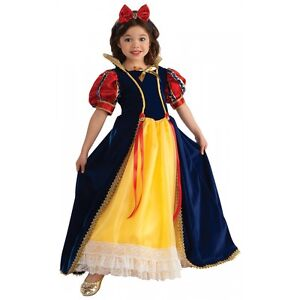 Image is loading Snow-White-Costume-Kids-Halloween-Fancy-Dress  sc 1 st  eBay & Snow White Costume Kids Halloween Fancy Dress | eBay
