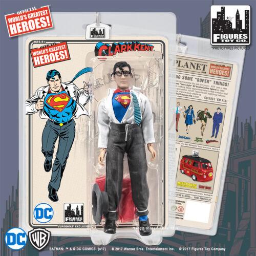 Clark Kent DC 8in Retro Cloth Figure Emerald City Comics Exclusive Superman
