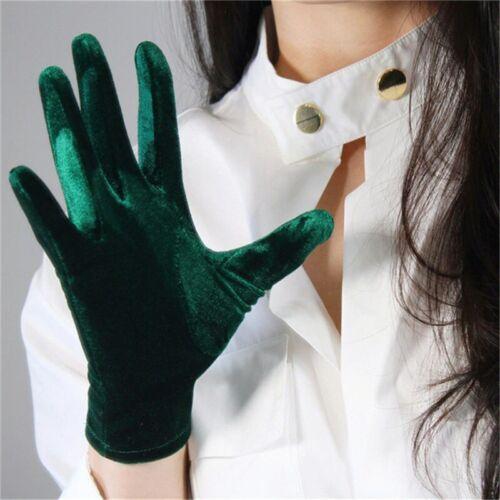 Fashion Velvet Gloves 22//40//50//60//70cm Long Opera Women Elastic Touchscreen Mitt