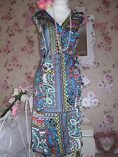 Monsoon beautiful Koscian multi size 18 wrap dress