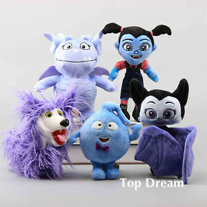 Disney-Vampirina-Gregoria-Wolfie-Demi-Bat-Plush-Doll-Toy-Stuffed-Kids-Toy-Gifts