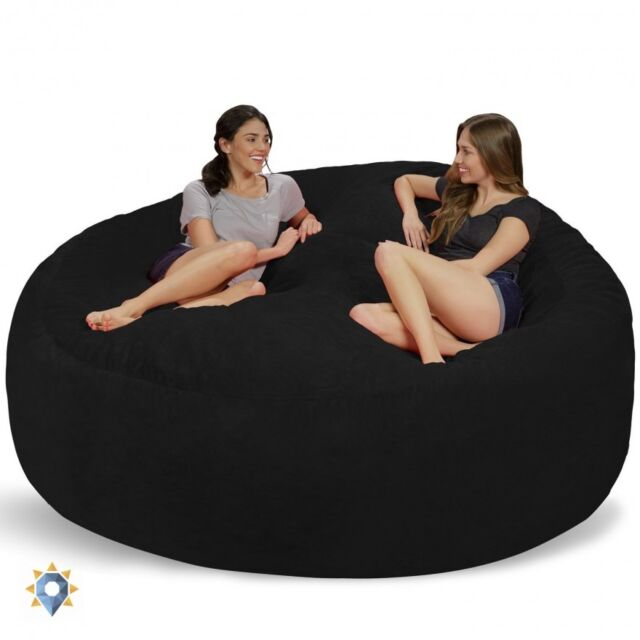 Comfy Sacks 8 Ft Memory Foam Bean Bag