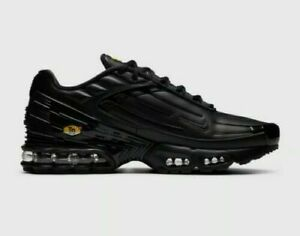 Details about MENS NIKE AIR MAX PLUS 3 TN TUNED LEATHER CK6716 001 UK 7 - 7.5