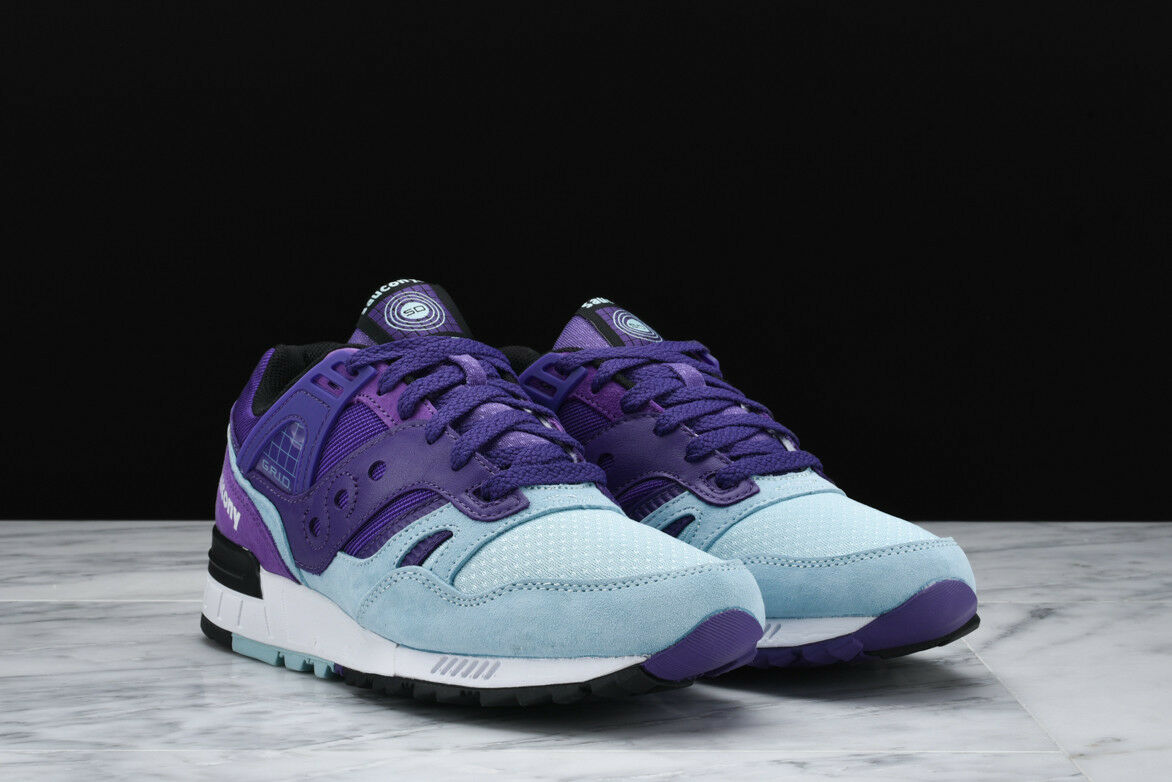 NEW IN BOX! Uomo Saucony GRID SD PURPLE CASUAL RUNNING SNEAKERS S70224-3 SZ 5-12