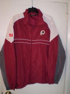 b20b4dffc Image is loading WASHINGTON-REDSKINS-Jacket-Lightweight-Sports-Illustrated- XL-Burgundy-